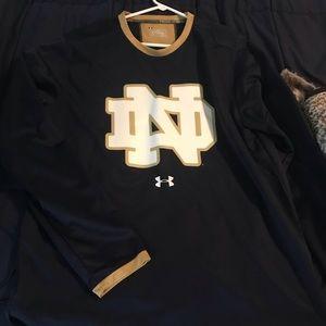 Notre Dame long sleeve shirt